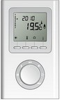 Thermostat radio pour radiateur tres basse consommation